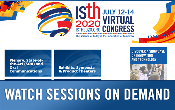 Miss a Session? Access Most ISTH 2020 Presentations On-Demand