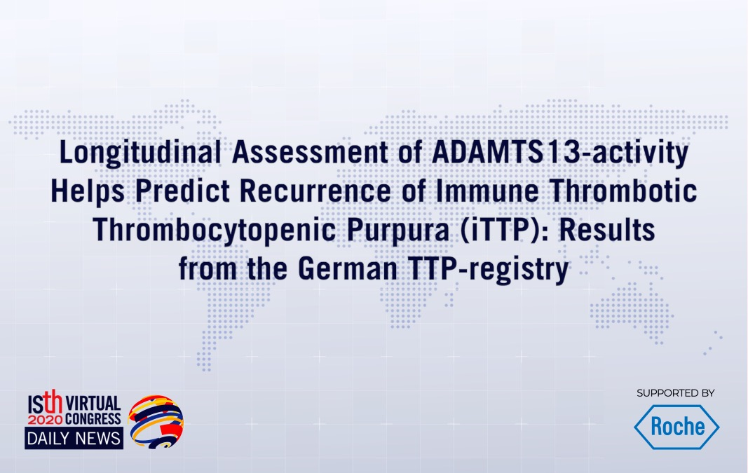 Longitudinal Assessment of ADAMTS13 Activity Helps Predict Recurrence of Immune Thrombotic Thrombocytopenic Purpura: Results From the German TTP Registry