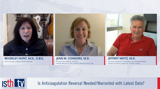 Is Anticoagulation Reversal Needed/Warranted with Latest Data?