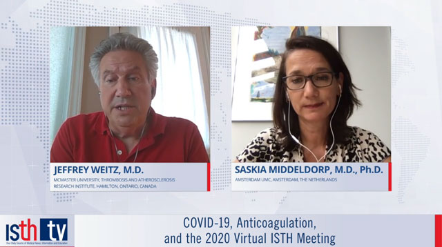 COVID-19, Anticoagulation, and the 2020 Virtual ISTH Meeting